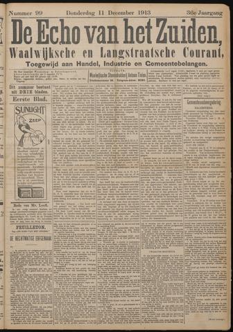 Echo van het Zuiden 1913-12-11