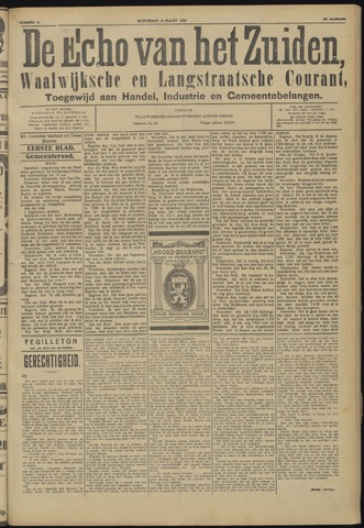 Echo van het Zuiden 1924-03-12