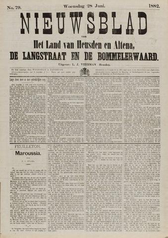 Nieuwsblad het land van Heusden en Altena de Langstraat en de Bommelerwaard 1882-06-28