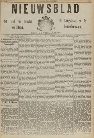 Nieuwsblad het land van Heusden en Altena de Langstraat en de Bommelerwaard 1891-08-22