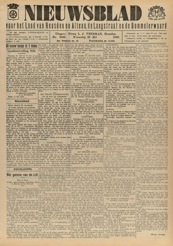 Nieuwsblad het land van Heusden en Altena de Langstraat en de Bommelerwaard 1930-05-28