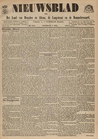 Nieuwsblad het land van Heusden en Altena de Langstraat en de Bommelerwaard 1903-05-09