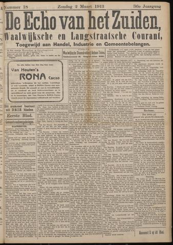 Echo van het Zuiden 1913-03-02