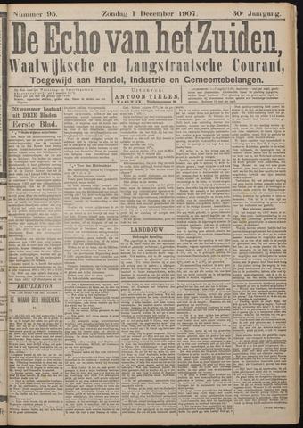 Echo van het Zuiden 1907-12-01