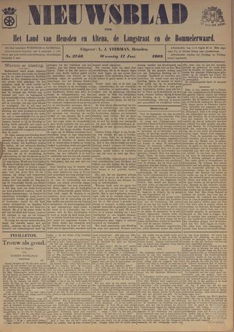 Nieuwsblad het land van Heusden en Altena de Langstraat en de Bommelerwaard 1908-06-17