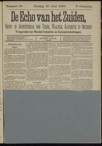 Echo van het Zuiden 1886-06-20