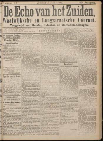 Echo van het Zuiden 1904-07-03