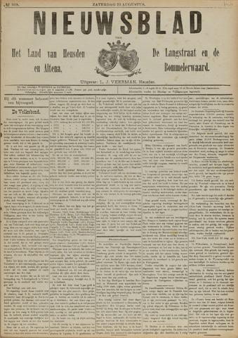 Nieuwsblad het land van Heusden en Altena de Langstraat en de Bommelerwaard 1890-08-23