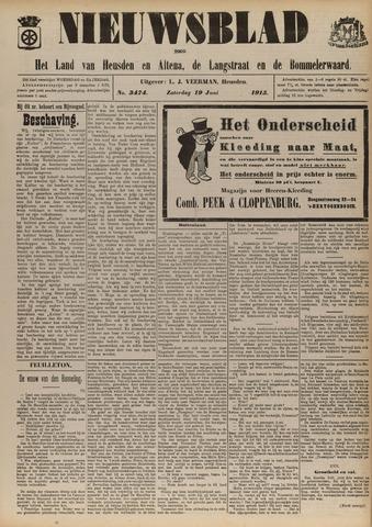 Nieuwsblad het land van Heusden en Altena de Langstraat en de Bommelerwaard 1915-06-19