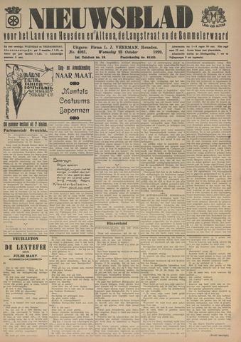 Nieuwsblad het land van Heusden en Altena de Langstraat en de Bommelerwaard 1929-10-23