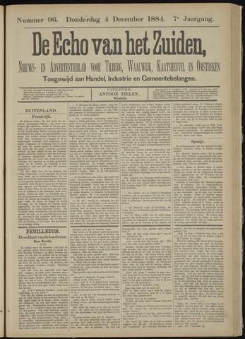 Echo van het Zuiden 1884-12-04