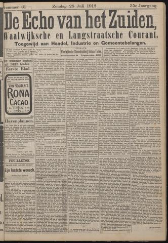 Echo van het Zuiden 1912-07-28