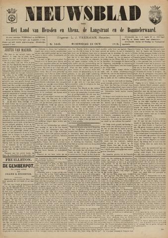 Nieuwsblad het land van Heusden en Altena de Langstraat en de Bommelerwaard 1895-10-16
