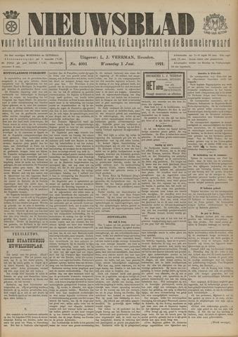 Nieuwsblad het land van Heusden en Altena de Langstraat en de Bommelerwaard 1921-06-01