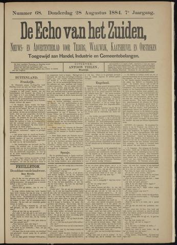 Echo van het Zuiden 1884-08-28