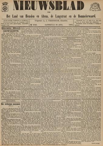 Nieuwsblad het land van Heusden en Altena de Langstraat en de Bommelerwaard 1902-08-30