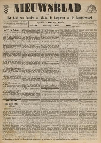 Nieuwsblad het land van Heusden en Altena de Langstraat en de Bommelerwaard 1906-04-11