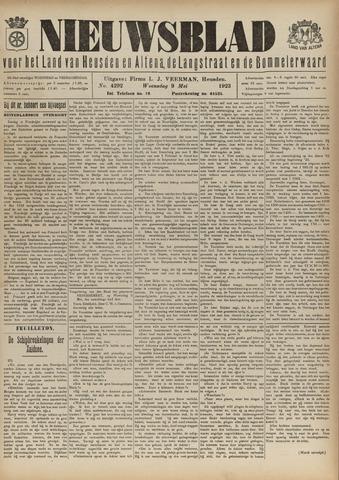 Nieuwsblad het land van Heusden en Altena de Langstraat en de Bommelerwaard 1923-05-09
