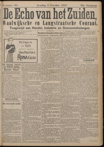 Echo van het Zuiden 1913-10-05