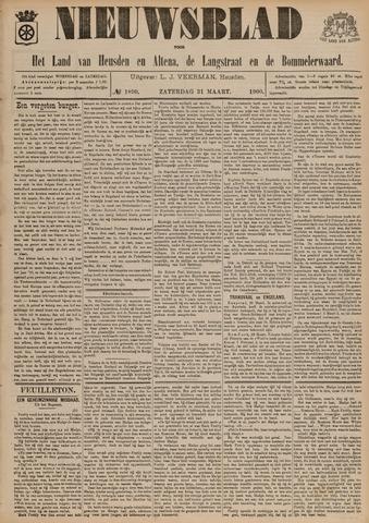 Nieuwsblad het land van Heusden en Altena de Langstraat en de Bommelerwaard 1900-03-31