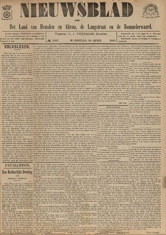 Nieuwsblad het land van Heusden en Altena de Langstraat en de Bommelerwaard 1901-04-10