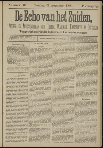 Echo van het Zuiden 1881-08-21
