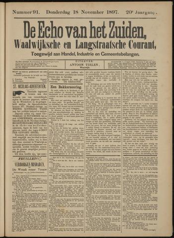 Echo van het Zuiden 1897-11-21