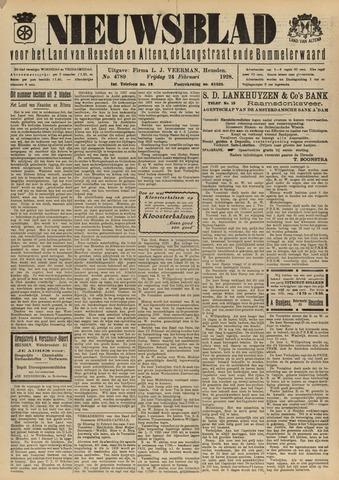 Nieuwsblad het land van Heusden en Altena de Langstraat en de Bommelerwaard 1928-02-24