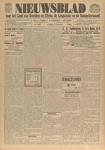 Nieuwsblad het land van Heusden en Altena de Langstraat en de Bommelerwaard 1934-02-09