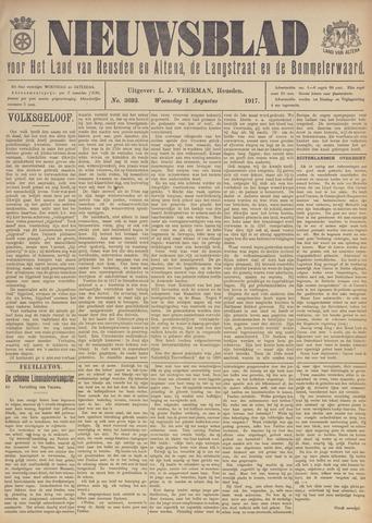 Nieuwsblad het land van Heusden en Altena de Langstraat en de Bommelerwaard 1917-08-01