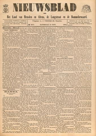 Nieuwsblad het land van Heusden en Altena de Langstraat en de Bommelerwaard 1904-11-12