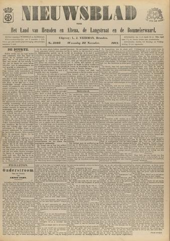 Nieuwsblad het land van Heusden en Altena de Langstraat en de Bommelerwaard 1911-11-22