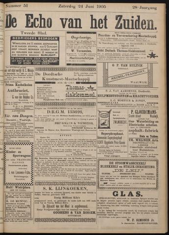 Echo van het Zuiden 1905-06-24