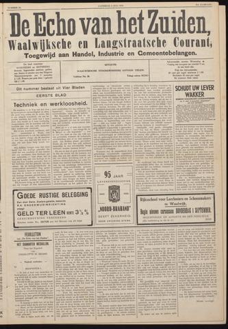 Echo van het Zuiden 1938-07-09