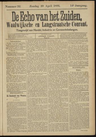 Echo van het Zuiden 1891-04-19