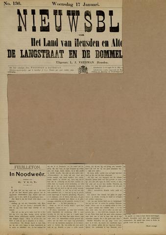 Nieuwsblad het land van Heusden en Altena de Langstraat en de Bommelerwaard 1883-01-17