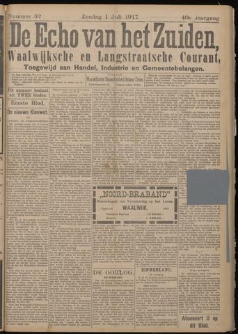 Echo van het Zuiden 1917-07-01