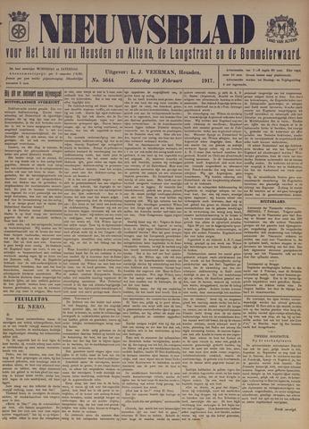 Nieuwsblad het land van Heusden en Altena de Langstraat en de Bommelerwaard 1917-02-10