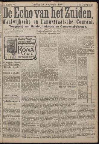 Echo van het Zuiden 1912-08-18