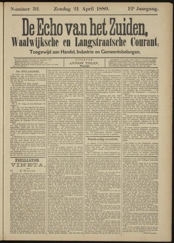 Echo van het Zuiden 1889-04-21