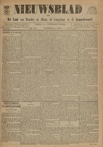 Nieuwsblad het land van Heusden en Altena de Langstraat en de Bommelerwaard 1896-06-24