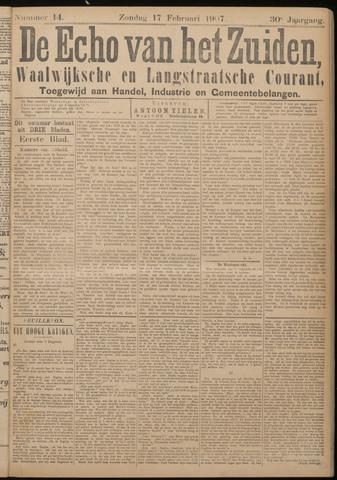 Echo van het Zuiden 1907-02-17