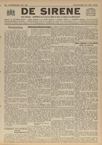 De Sirene 1946-05-27
