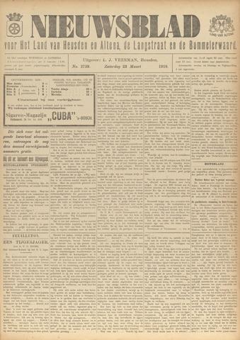 Nieuwsblad het land van Heusden en Altena de Langstraat en de Bommelerwaard 1918-03-23