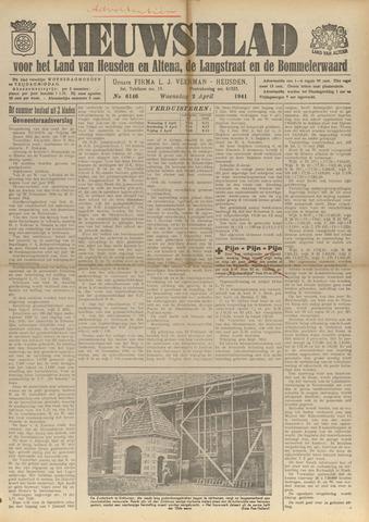 Nieuwsblad het land van Heusden en Altena de Langstraat en de Bommelerwaard 1941-04-02