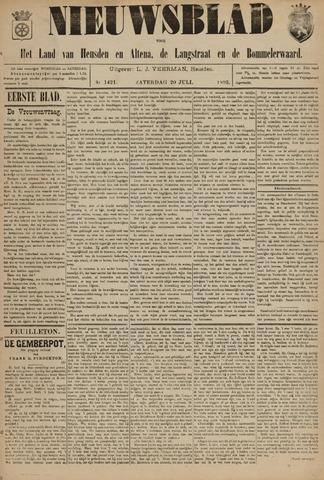 Nieuwsblad het land van Heusden en Altena de Langstraat en de Bommelerwaard 1895-07-20