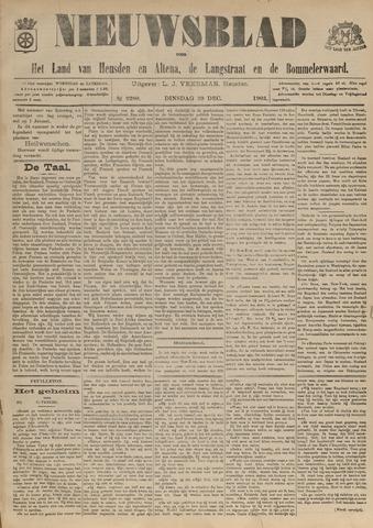 Nieuwsblad het land van Heusden en Altena de Langstraat en de Bommelerwaard 1903-12-29