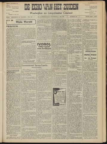 Echo van het Zuiden 1954-11-05