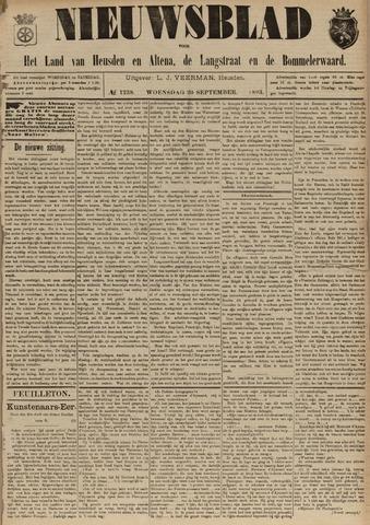 Nieuwsblad het land van Heusden en Altena de Langstraat en de Bommelerwaard 1893-09-20