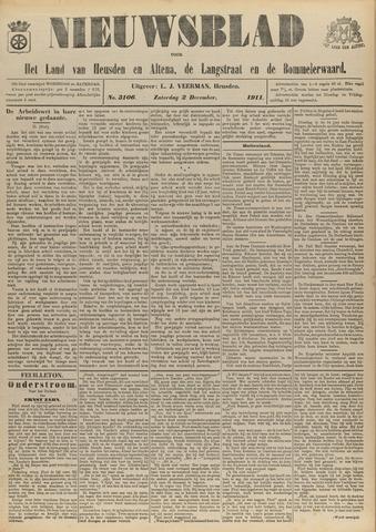 Nieuwsblad het land van Heusden en Altena de Langstraat en de Bommelerwaard 1911-12-02